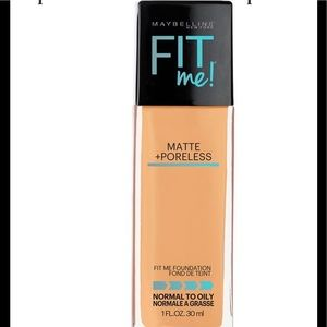 MAYBELLINE Fit Me Matte & Poreless Foundation NWT